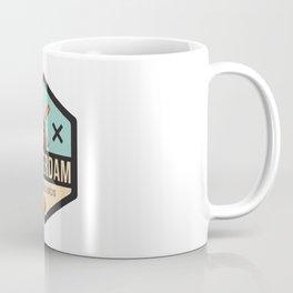 Amsterdam Windmill Badge XXX Coffee Mug