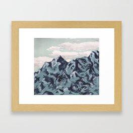 Subtle Emotion Framed Art Print