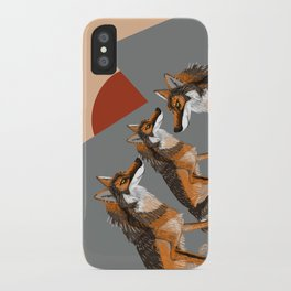 Wolves of the World: Iberian wolf (GREFA) iPhone Case