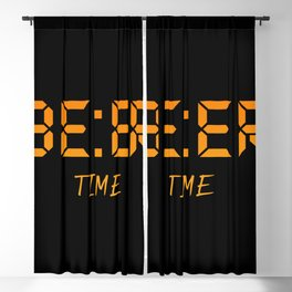 Beer time Blackout Curtain