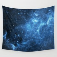 galaxy Wall Tapestries featuring Galaxy by Space99