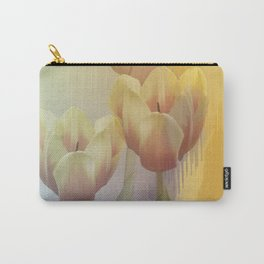 Tulips in golden light Carry-All Pouch