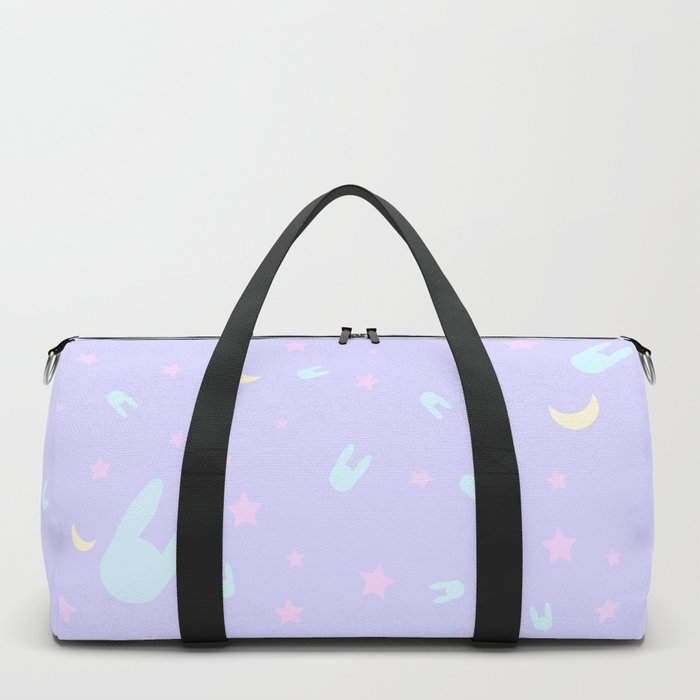 Sailor Moon inspired pattern Duffle Bag