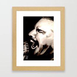 Mercury's Passion Framed Art Print