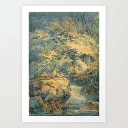 "J.M.W. Turner ""The Angler"" Art Print"