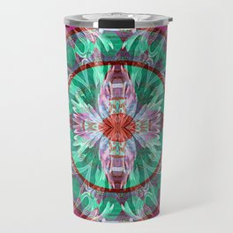 Firebird Eye of the Sky Mandala Travel Mug