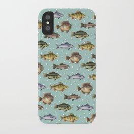 Watercolor Fish iPhone Case