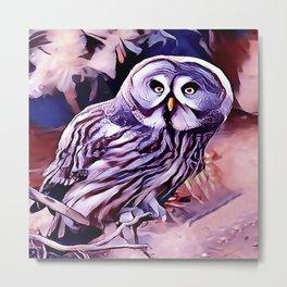 The Great Grey Owl Metal Print