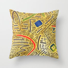 RAYCLEST 4 Throw Pillow