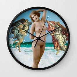 The Empress - Vintage Erotic Tarot Wall Clock