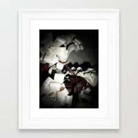 valentine Framed Art Prints featuring Valentine by Françoise Reina