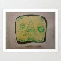 bread Art Prints featuring Bread by Brandon R. Jackson