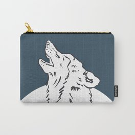 Pra Loup Howling Wolf Carry-All Pouch