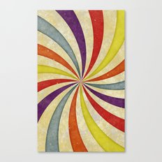 Colorful Twirl Canvas Print