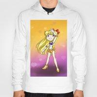 sailor venus Hoodies featuring Sailor Venus by Thedustyphoenix