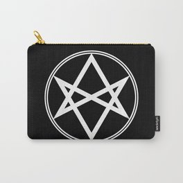 Men of Letters Symbol White Carry-All Pouch