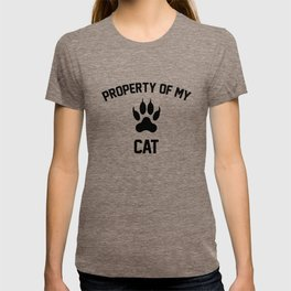 Property of my cat T-shirt