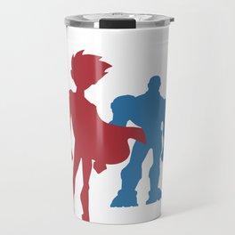 [ Teen Titans ] Robin, Starfire, Raven, Beast Boy and Cyborg Travel Mug