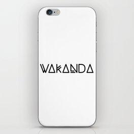 wakanda iPhone Skin