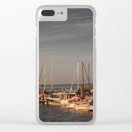 Horumersiel marina lower saxony Germany ( Northsea ) Clear iPhone Case