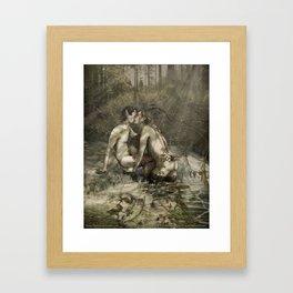 Satyriasis Print 2 Framed Art Print