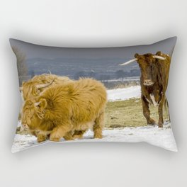 Bully And The Heeelans Rectangular Pillow