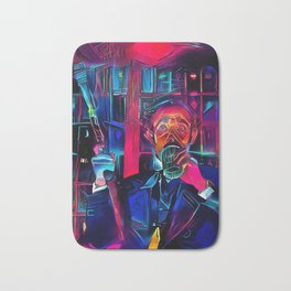 Altered Carbon - Poe Armed and Ready (Chris Conner) Bath Mat