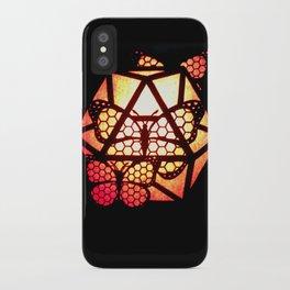 Burning Butterfly Lantern  iPhone Case