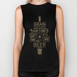 Beer Brewing Explained Biker Tank