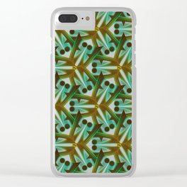 Tiny creatures emerging Clear iPhone Case