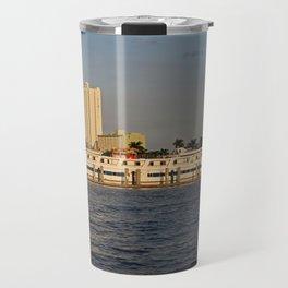 Shoreline in Fort Myers I Travel Mug