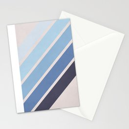 Blue Color Drift Stationery Cards