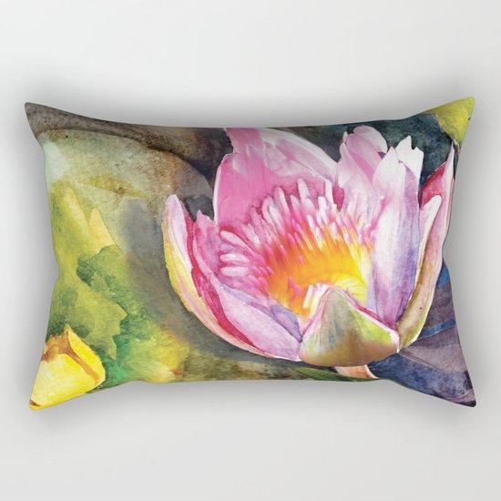 Macro Flower #16 Rectangular Pillow