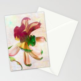 Dancing Tulip Stationery Cards