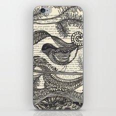Bird in the Pines iPhone & iPod Skin
