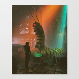 buying drugs from cryptoworm (everyday 10.09.18) Canvas Print