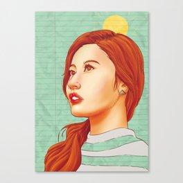 TWICE - Sana Canvas Print