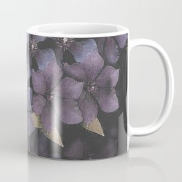 Faded Clematis in Purple Coffee Mug