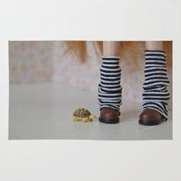 Tortoise love - Blythe doll #11 Rug