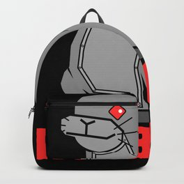 Robbe - Funny Joke With Robot Graphic Backpack