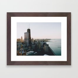 Chicago - View From the Top Framed Art Print