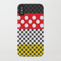 minnie mouse iPhone & iPod Cases featuring Minnie by AmadeuxArt