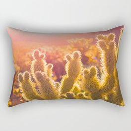 Don't touch me!! Rectangular Pillow