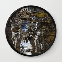 roman Wall Clocks featuring Roman Impression  by CAPTAINSILVA