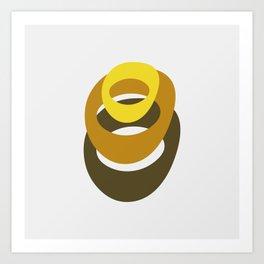 The Rings Art Print