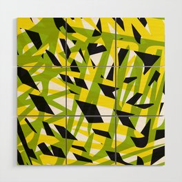 structure camouflage Wood Wall Art