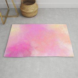 Pink Love Cloud Rug