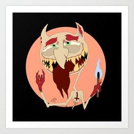 Half-Demon Art Print