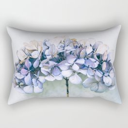 Delicate Hydrangea Rectangular Pillow