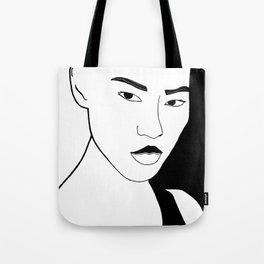 People. Tote Bag